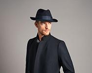 Шляпа CHRISTYS арт. CLASSIC cso100019 (коричневый)